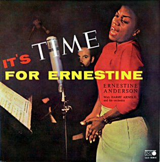IT'S TIME FOR ERNES TIME ENESTIME ANDERSON