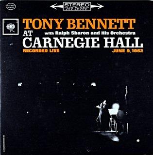 TONY BENNETT AT CARNEGIE HALL '62 2枚組 Us盤