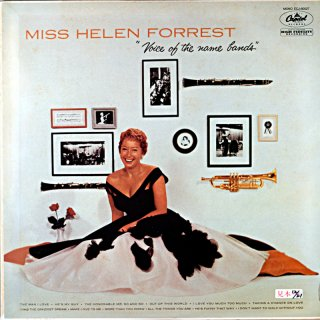 MISS HELEN FORREST VOICE OF THE NAME BANDS