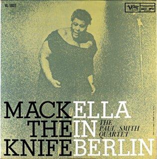MACK THE KNIFE ELLA FITZGERALD IN BERLIN