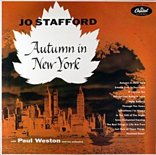 JO STAFFORD / AUTUMN IN NEW YORK