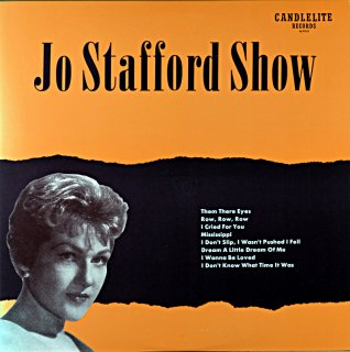 JO STAFFORD SHOW 10inch盤