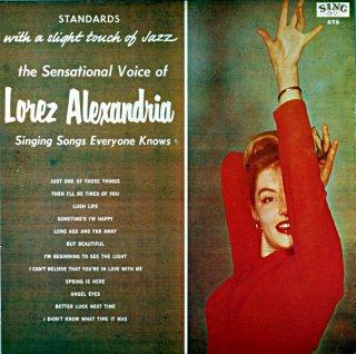 SONGS EVERYONE KNOWES LOREZ ALEXANDRIA Denmark盤