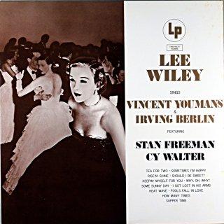 LEE WILEY SINGS VINCENT YOUMANS & IRVING BERLIN