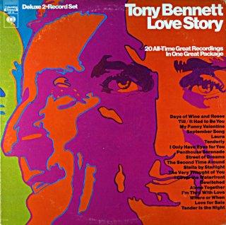 TONY BENNETT LOVE STORY 2枚組 Us盤