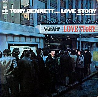 TONY BENNETT SINGS LOVE STORY