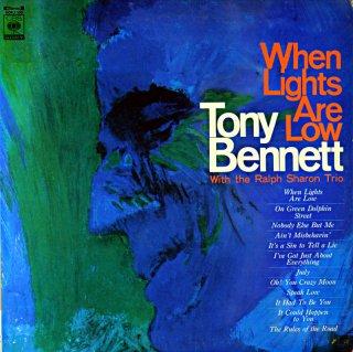 TONEY BENNETT WHEN LIGHT'S ARE LOW