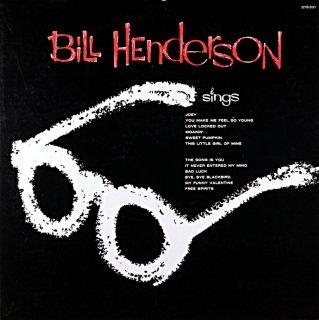 BILL HENDERSON SINGS