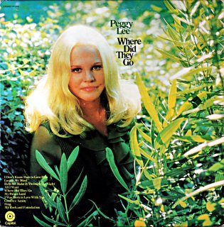 PEGGY LEE WHERE DID THEY GO Us盤