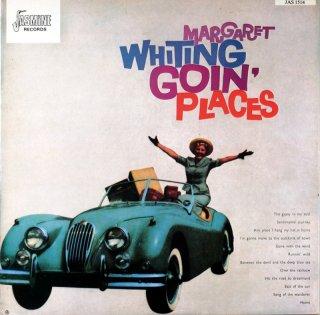 MARGARET WHITING GON PLACES Uk盤