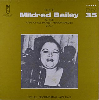 HERE IS MILDRED BAILEY Us盤