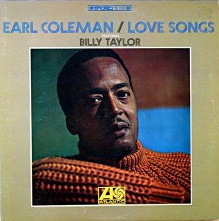 EARL COLEMAN / LOVE SONGS