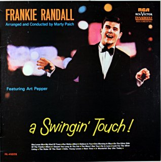 FRANKIE RANDALL SWINGIN' TOUCH! (Fresh sound盤)