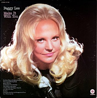 PEGGY LEE MAKE IT WITH YOU Original盤