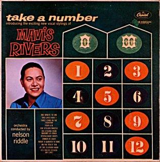 TAKE A MUMBER MAVIS RIVERS Original盤
