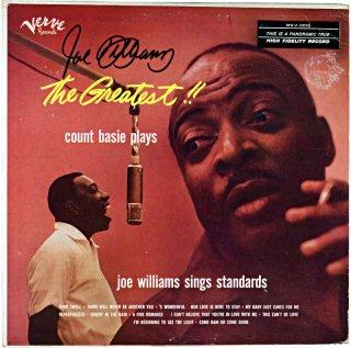 THE GREATEST! COUNT BASIE PLAYS JOE WILLAMS SINGS