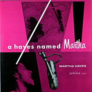 MARTHA HAYES A HAYES NAMED MARTHA (Fresh sound盤)