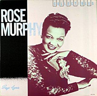ROSE MURPHY SONGS AGAIN Us盤
