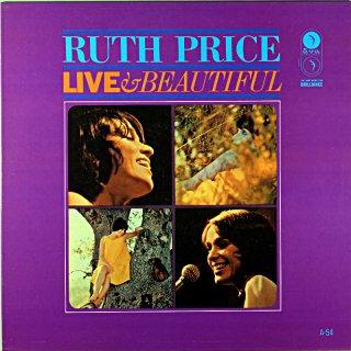 RUTH PRICE LIVE & BEAUTIFUL (Fresh sound盤)
