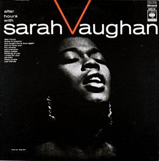 SARAH VAUGHAN AFTER HOURS