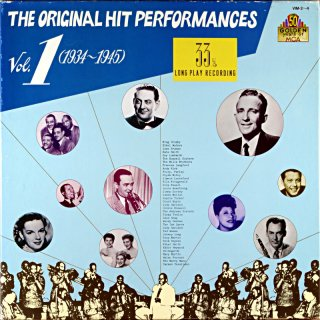 BING CROSBY THE ORIGINAL HIT PERFORMANCES 1934-1945 3枚組