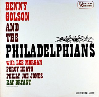 BENNY GOLSON AND THE PHILADELPHIANS