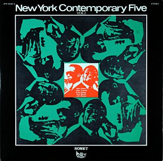 ARCHIE SHEPP NEW YOURK CONTEMPORARY FIVE VOL.1