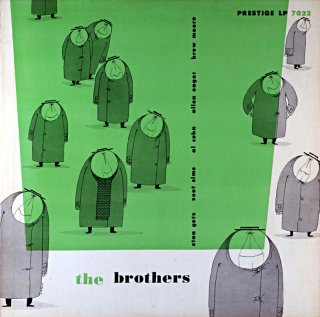 THE BROTHERS STAN GETZ AND HIS FOUR BROTHERS Original盤