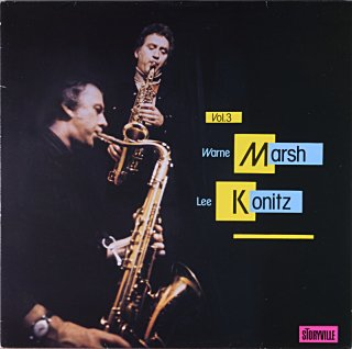 WARNE MARSH LEE KONITZ VOL.3 Swedish盤