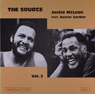 THE SOURCE JACKIE McLEAN FEAT. DEXTER GORDON Denmark盤