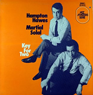 HAMPTON HAWES MARTIAL SOLAL KEY FOR TWO French盤