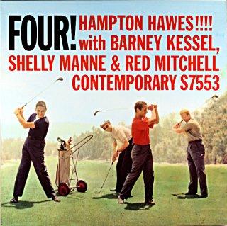 FOUR! HAMPTON HAWES !!! (OJC盤)