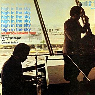HIGHT IN THE SKY HAMPTON HAWES TRIO Us盤