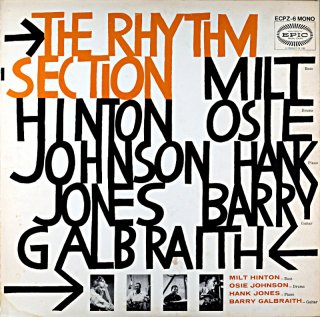 HANK JONES THE RHYTHM SECTION