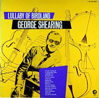 GEORGE SHEARING LULLABY OF BIRDLAND