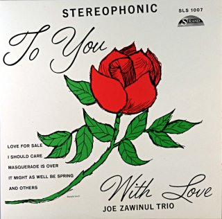 TO YOU WITH LOVE JOE ZAWINUL TRIO French盤
