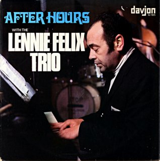 LENNIE FELIX / AFTER HOURS Original盤