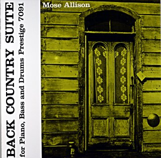 MOSE ALLISON BACK CONTRY SUITE (OJC盤)
