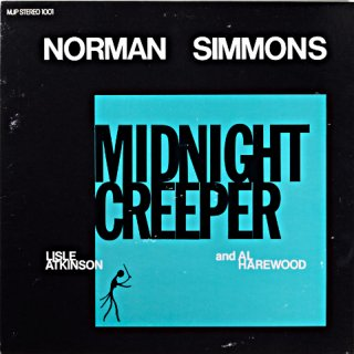 NORMAN SIMMONS MIDNIGHT CREEPER Us盤