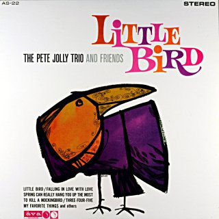 LITTLE BIRD THE PETE JOLLY TRIO (V.S.O.P盤)