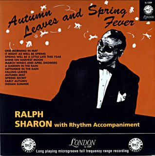 AUTUMN LEAVES AND SPRING FEVER RALPH SHARON Uk盤