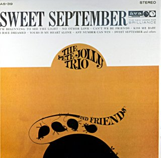 SWEET SEPTEMBER WITH THE PETE JOLLY TRIO (V.S.O.P盤)
