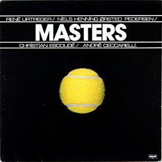 MASTERS RENE URTREGER Original盤