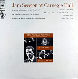 MEL POWELL JAM SESSION AT CARNEGIE HALL
