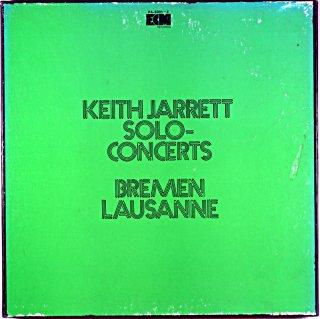KEITH JARRETT SOLO-CONCERTS BREMEN LAUSANNE