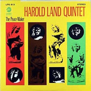 HAROLD LAND QUINTET THE PEACE-MAKER