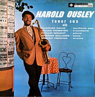 HAROLD OUSLEY TENOR SAX Spanish盤