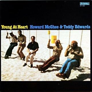 YOUNG AT HEART HOWARD McGHEE & TEDDY EDWARS Denmark盤