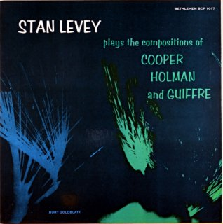 STAN LEVEY PLAY'S THE CMPOSITIONS OF COOPER HLAN Us盤