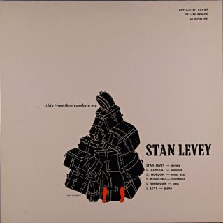 TIS TIME THE DRUM'S ON ME STAN LEVEY
